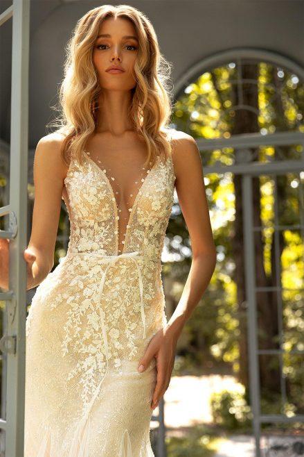 Kwitnące suknie ślubne